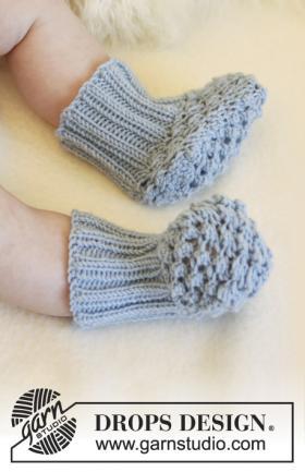 Детские носки черника