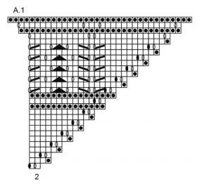 Шаль тень Эйре - Схема 2