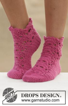 Носки с ажурным мотивом