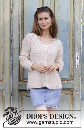 Пуловер В точку