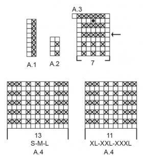 Кроп-топ Мазо - Схема 1