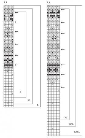 Джемпер весенняя долина - Схема 2