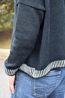 Пуловер Эбони - Фото 2