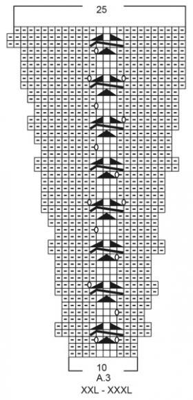 Кардиган Царица - Схема 5