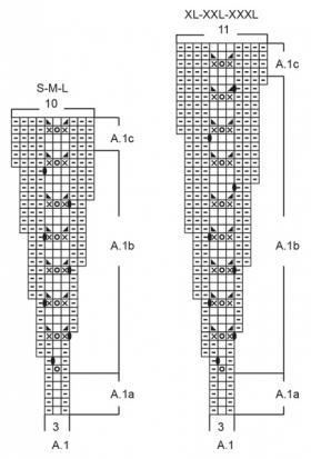 Свитер Клеманс - Схема 2