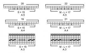 Пуловер Сеговия - Схема 2
