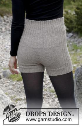 Теплые шорты спицами для женщин - Фото 1