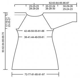 Пуловер Прекрасная эпоха - Выкройка 1
