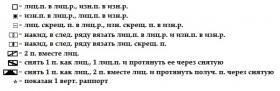Кардиган Альтаир - Схема 1