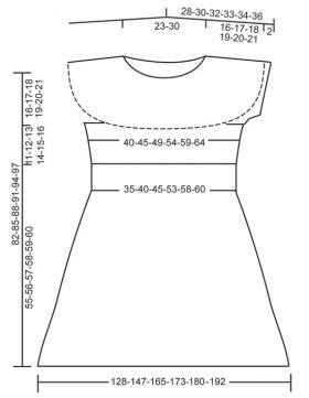 Платье Потанцуй со мной - Выкройка 1
