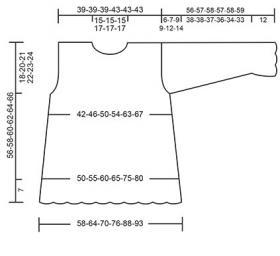 Пуловер Леди Ангелика - Выкройка 1