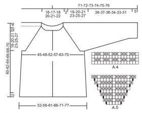 Кардиган Сладкий жемчуг - Схема 3