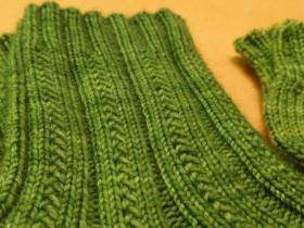 Носки с узором из полос - Фото 2