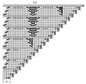 Шаль Прилив - Схема 4