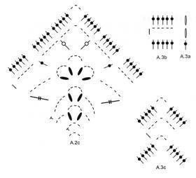 Туника Розетта - Схема 3