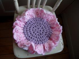 Подстилка-цветок для стула