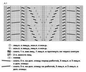 Болеро серый шелест - Схема 1