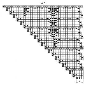 Шаль Прилив - Схема 5