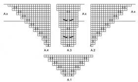 Шаль Альмерия - Схема 2