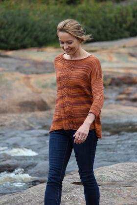 Пуловер Осенний бриз