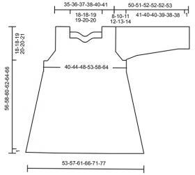 Пуловер Ки-вест - Выкройка 1