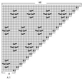 Джемпер Клубничный взмах - Схема 2