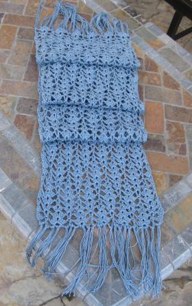 Хлопковый шарф - Фото 1