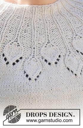 Джемпер Белый павлин - Фото 1