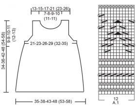 Платье Серафина - Схема 2