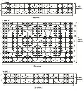 Свитер Кейси - Схема 2