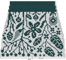 Носки Середина лета - Схема 2