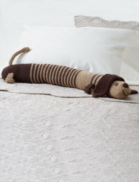 Подушка-валик такса