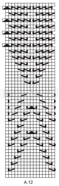 Шаль Аретуса - Схема 4