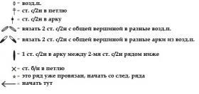 Жакет персиковый сорбет - Схема 3