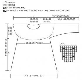 Джемпер вечнозеленый - Схема 1