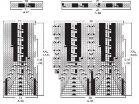 Жакет хрустальный блеск - Схема 2