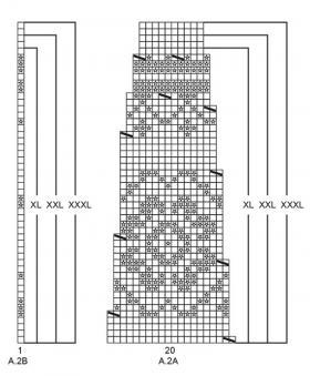 Кардиган Литорина - Схема 4
