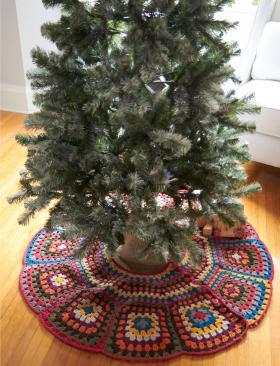 Коврик для новогодней елки