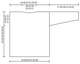 Джемпер Малиновый взрыв - Выкройка 1