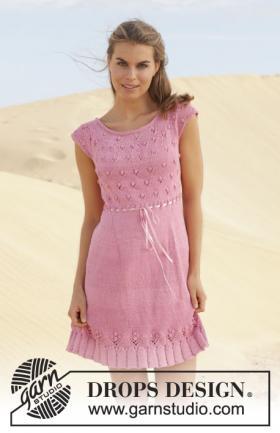 Летнее платье с круглой кокеткой