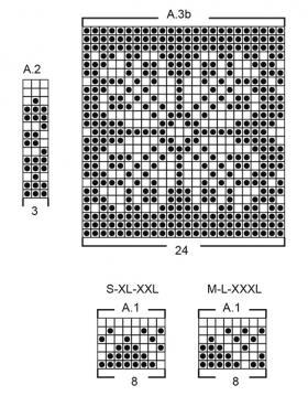 Джемпер Винтермас - Схема 1