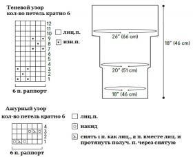 Снуд-труба Адельфа - Схема 1