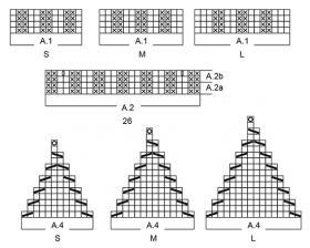 Комплект зимняя вьюга - Схема 2