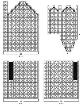 Варежки Розендал - Схема 2