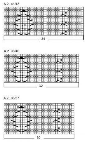 Носки Сердце викинга - Схема 5