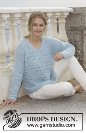 Пуловер Матрос