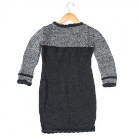Маленькое черное платье спицами - Фото 2