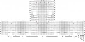 Кардиган с аранами на рукавах и застежкой молния - Схема 2