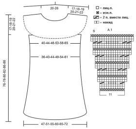 Платье Корнелия - Выкройка 1