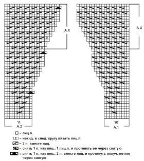 Джемпер Венеция - Схема 1